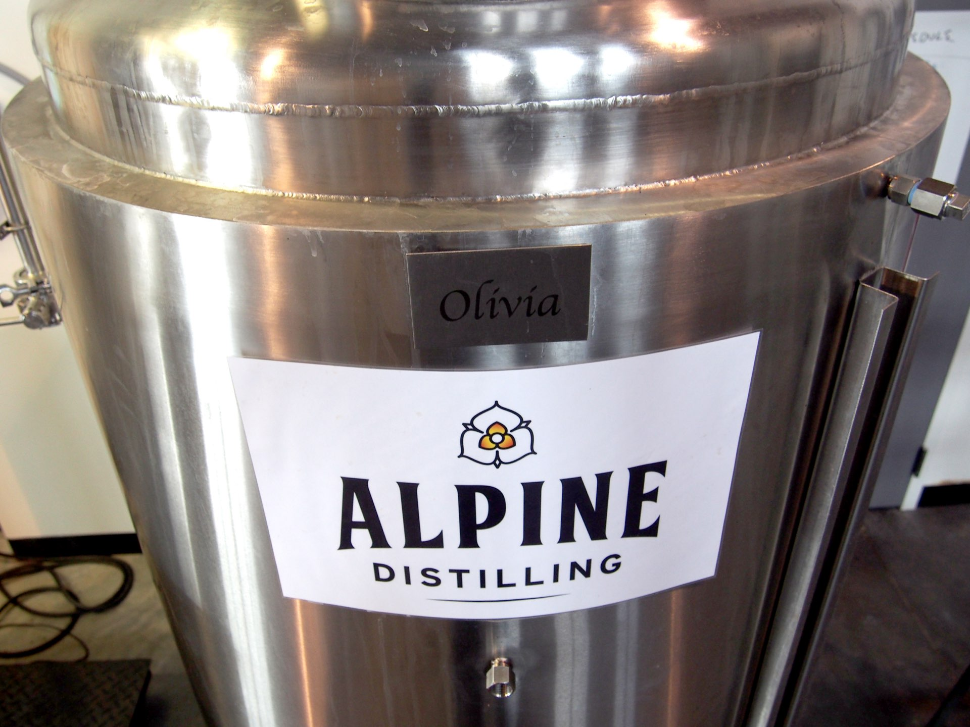 Keg, Alpine Distilling, architectural design by Elliott Workgroup