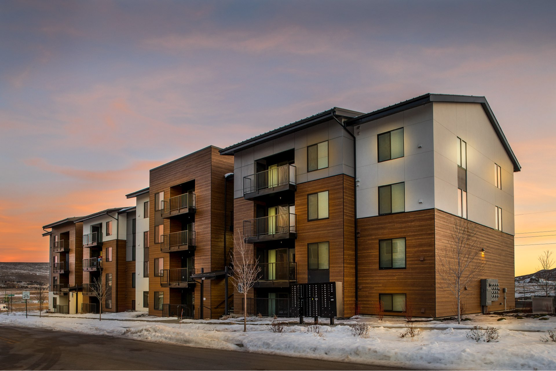 Central Village Condominiums, architectural design by Elliott Workgroup