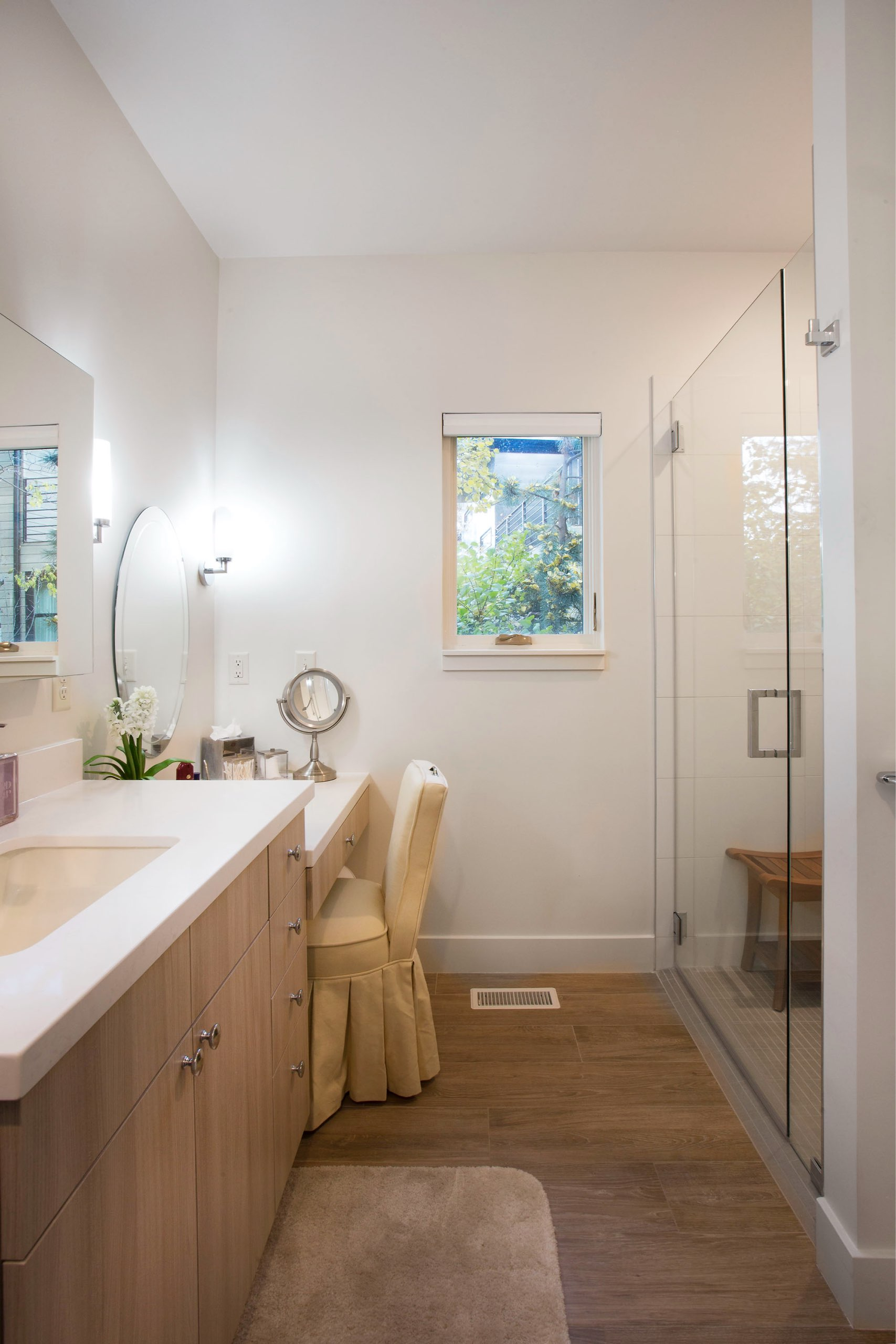 Bathroom in the Granny Pod in Park City, Utah, architectural design by Elliott Workgroup