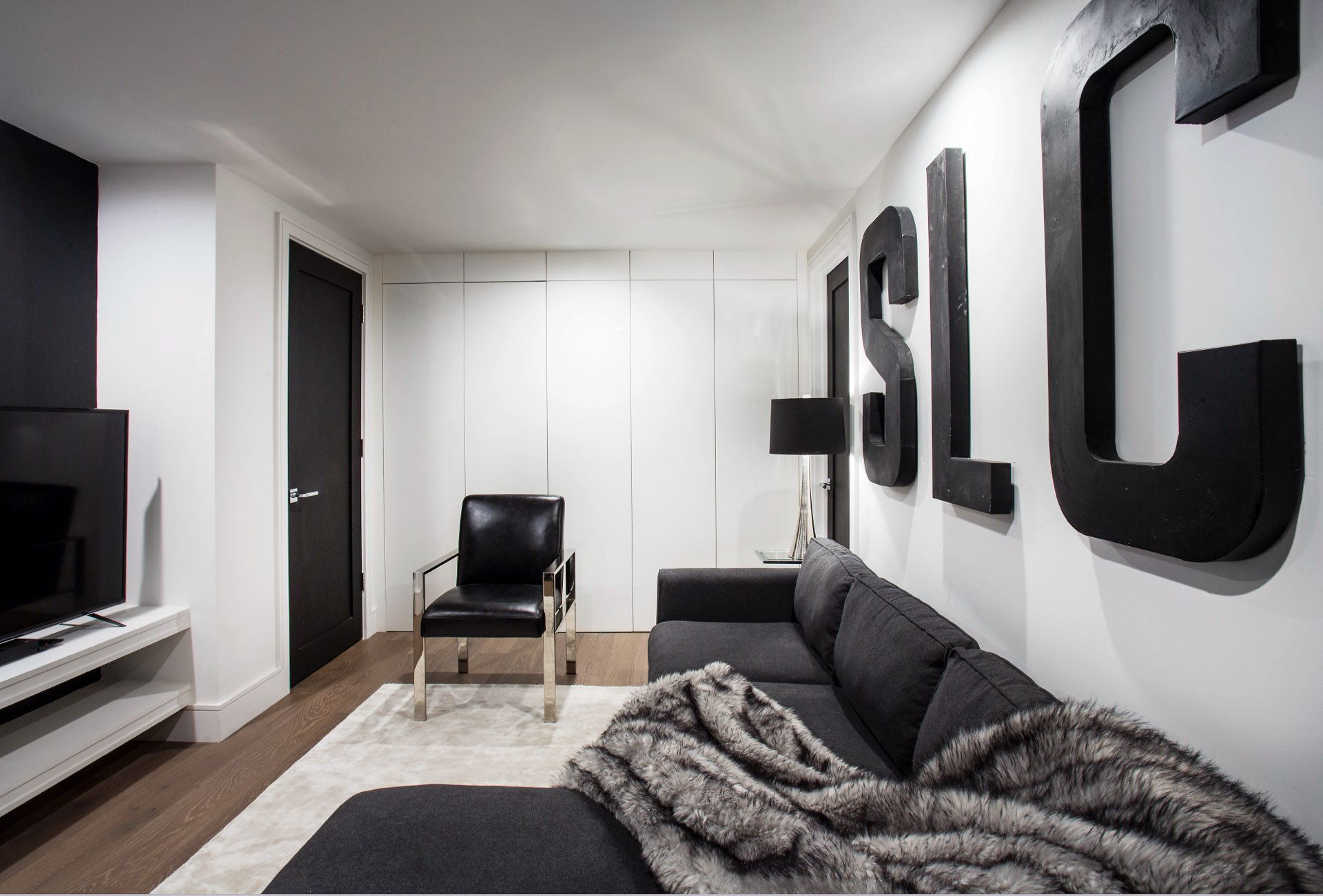 Basement, House 970, residential architectural design by Elliott Workgroup