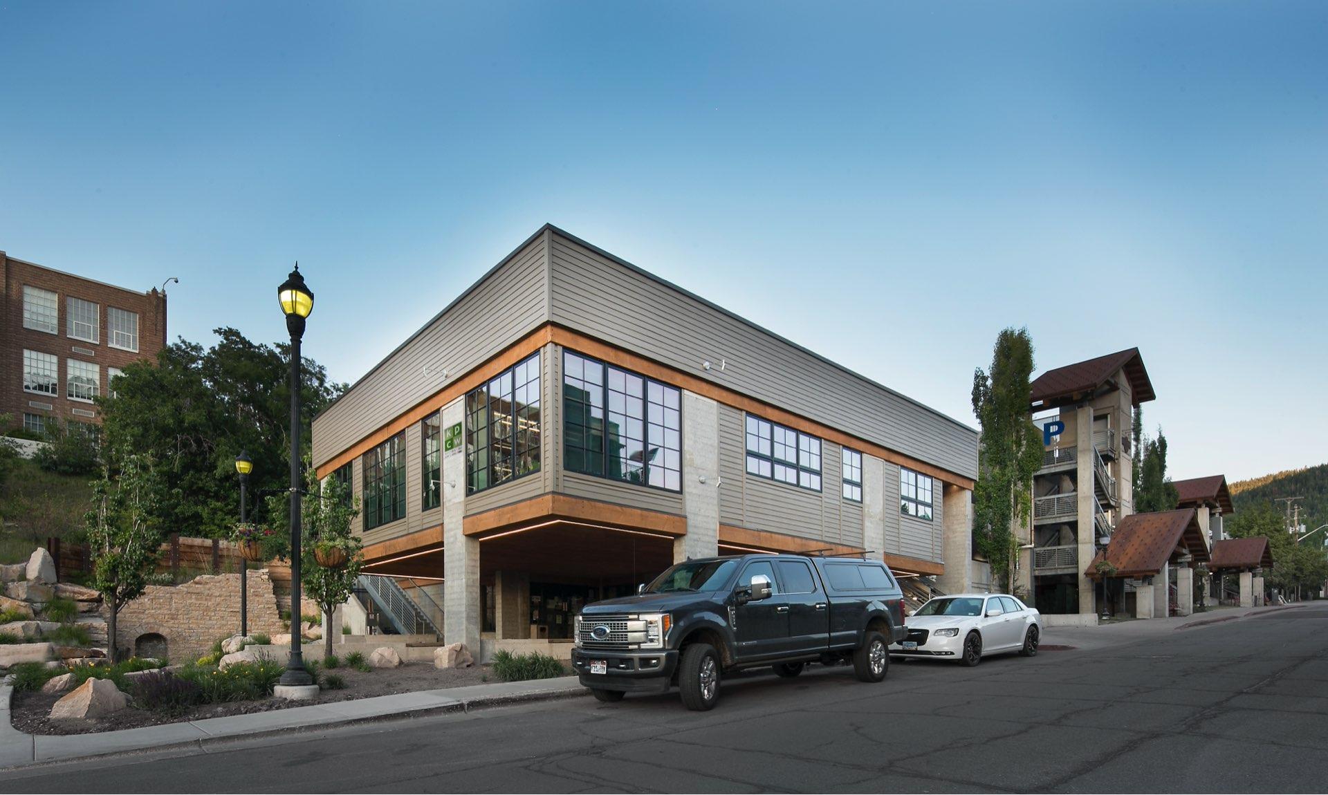 KPCW Radio, architectural design by Elliott Workgroup