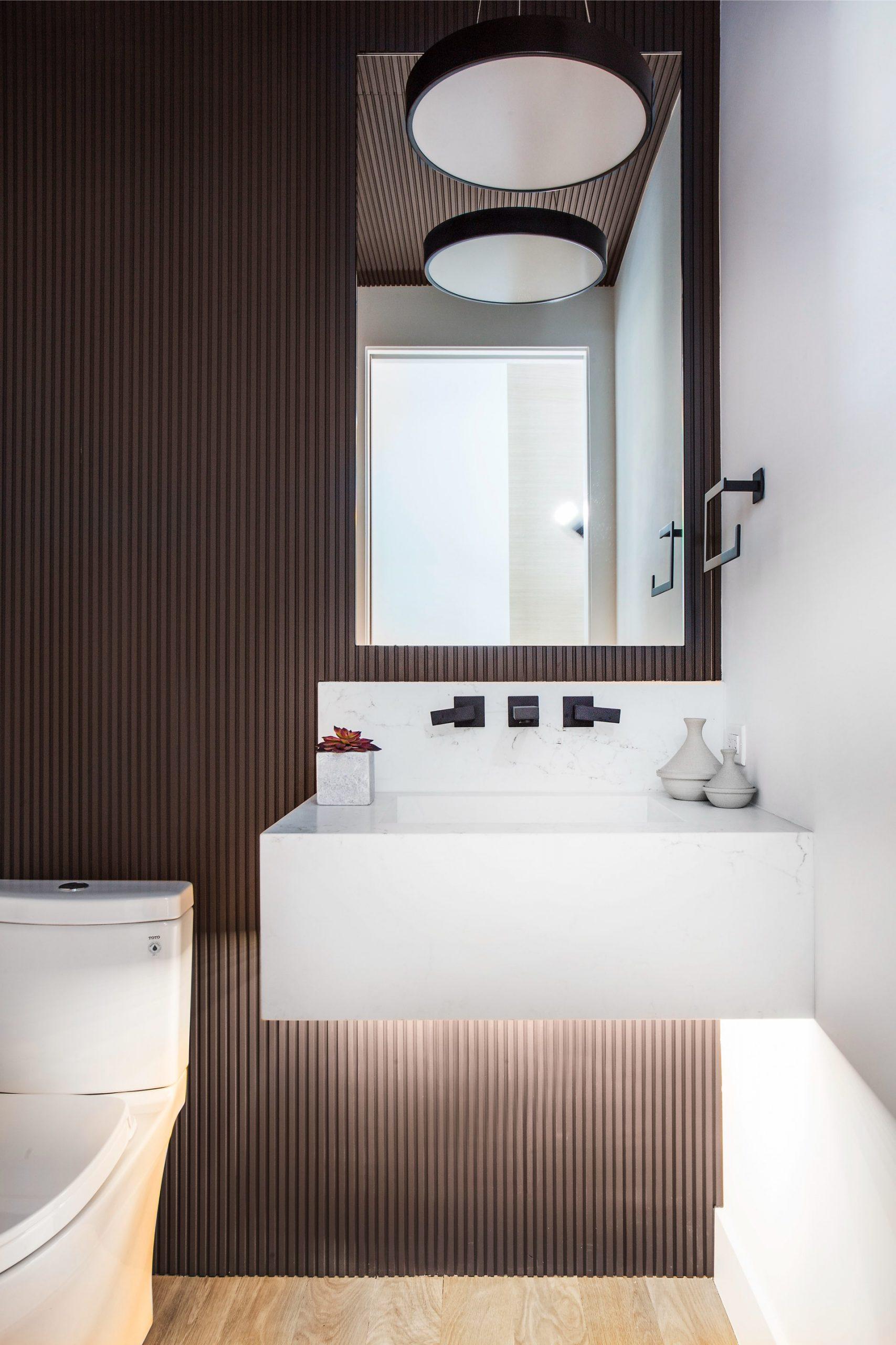 Bathroom, Lilac Hill Duplex Addition, architectural design by Elliott Workgroup