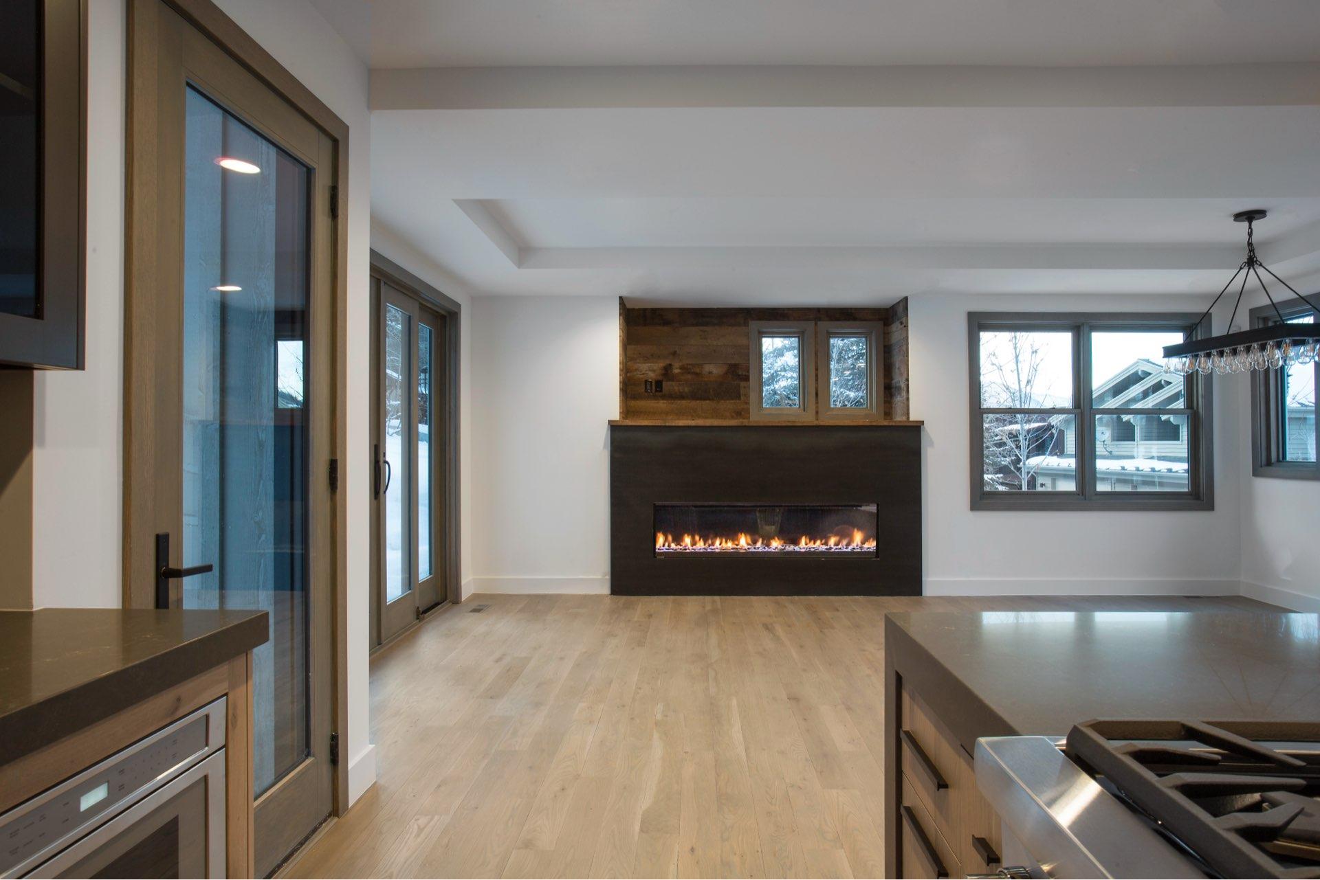 Interior design, Lilac Hill Duplex - Historic, architectural design and historic restoration by Elliott Workgroup