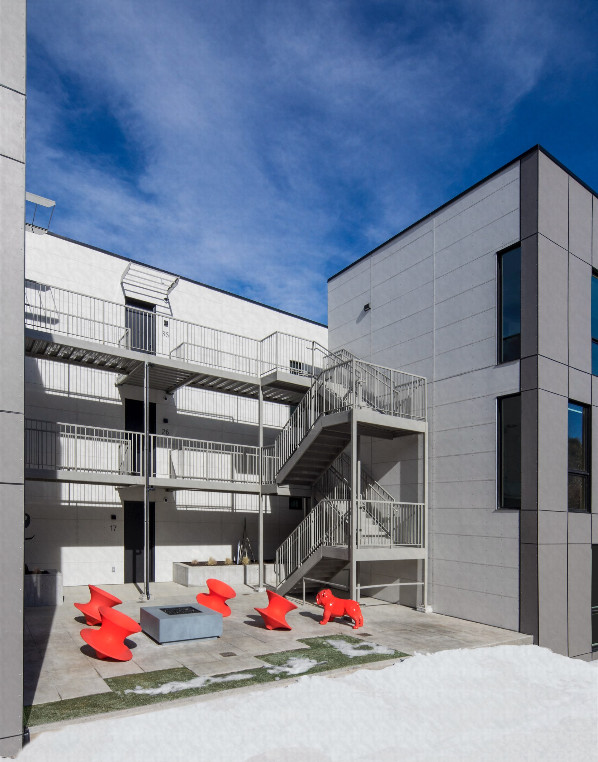 Prospector Residential, architectural design by Elliott Workgroup