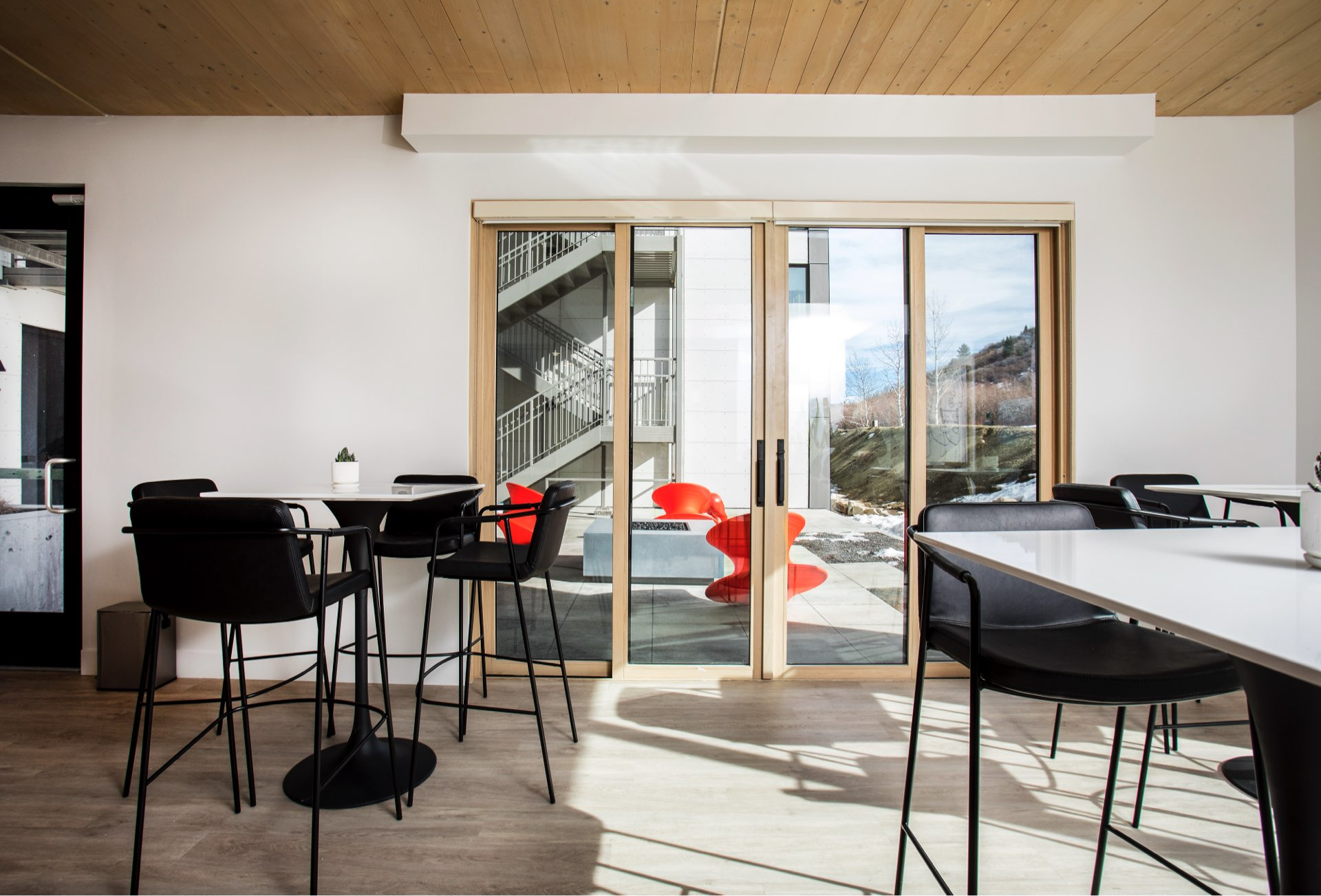 Common area, Prospector Residential, architectural design by Elliott Workgroup