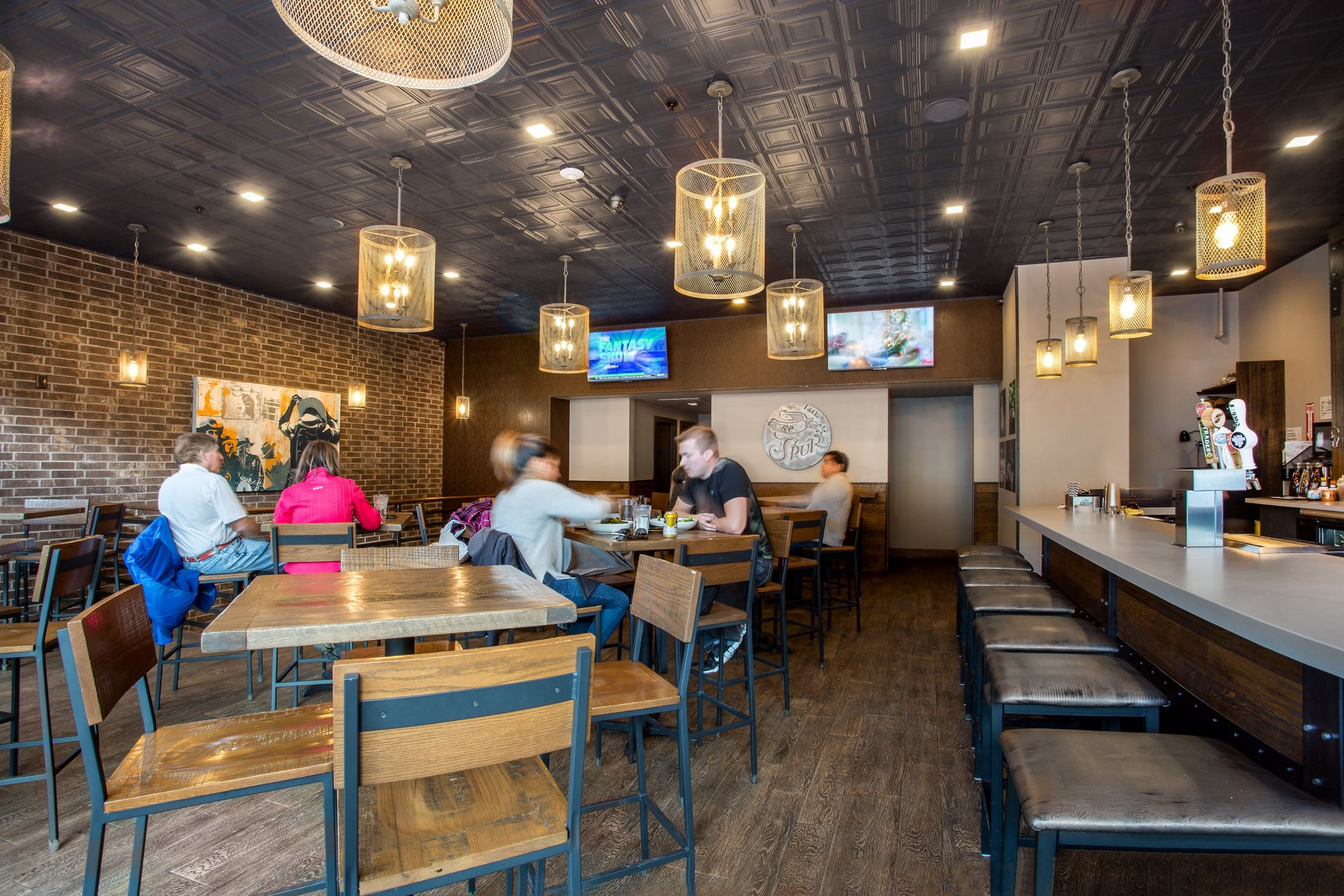 The Spur Bar and Grill, architectural design by Elliott Workgroup
