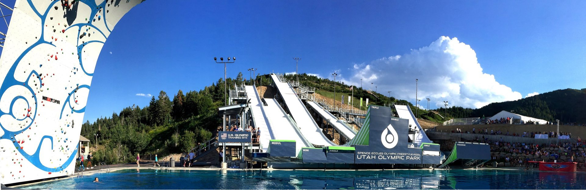 Utah Olympic Park Water Jumps, Sport & Recreation architectural design by Elliott Workgroup