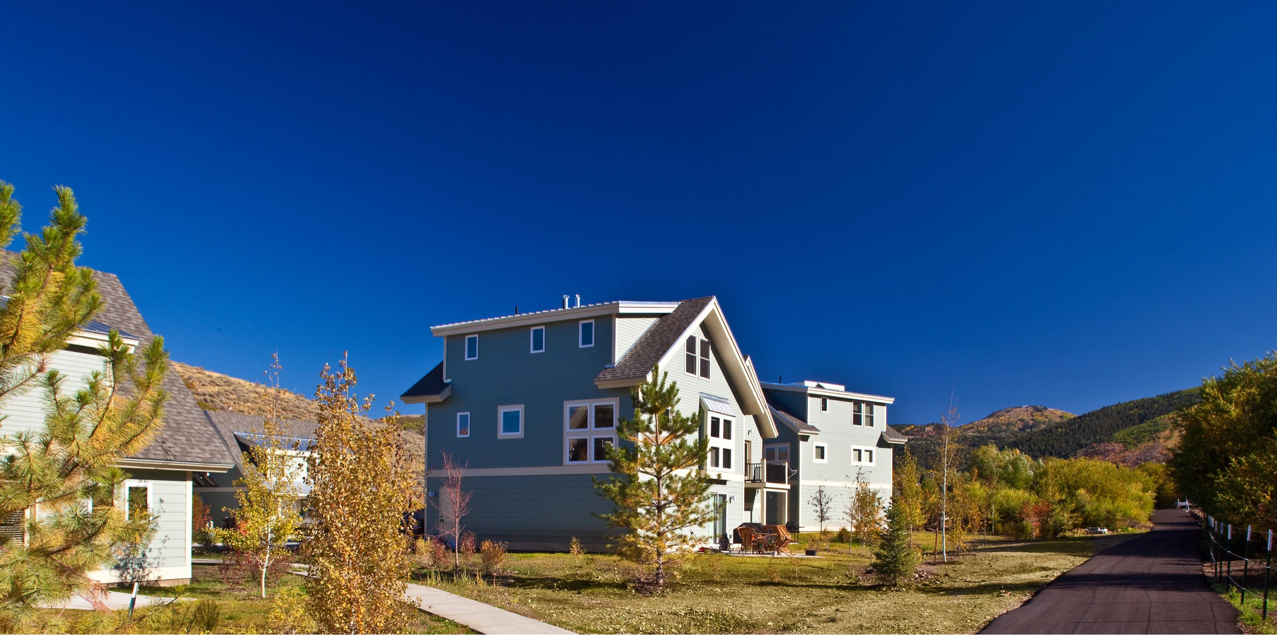 Snow Creek Cottages, architectural design by Elliott Workgroup