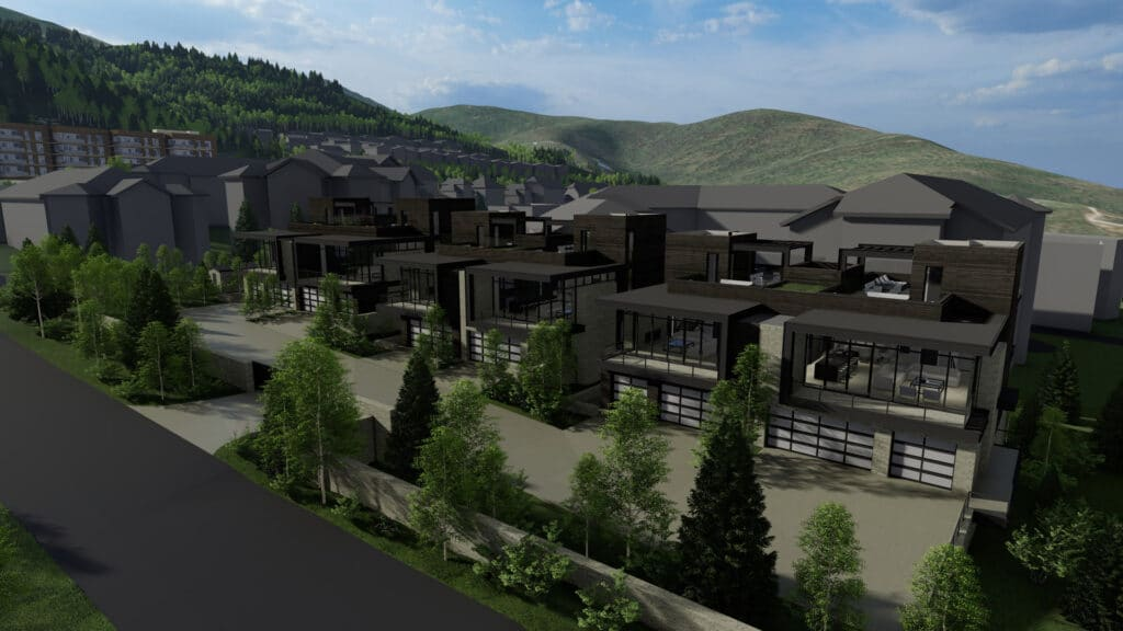 Canyons Townhomes by Elliott Workgroup