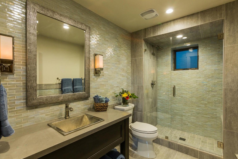 Norfolk Ave 1, bathroom - architectural design by Elliott Workgroup