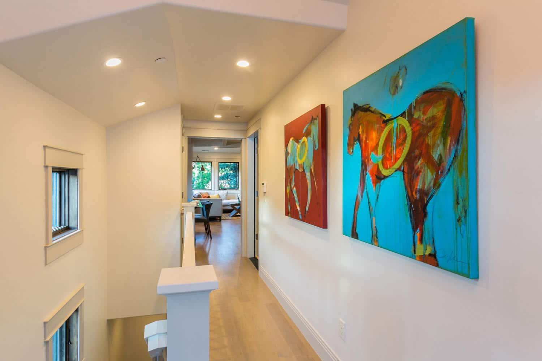 Norfolk Ave 1, hallway - architectural design by Elliott Workgroup