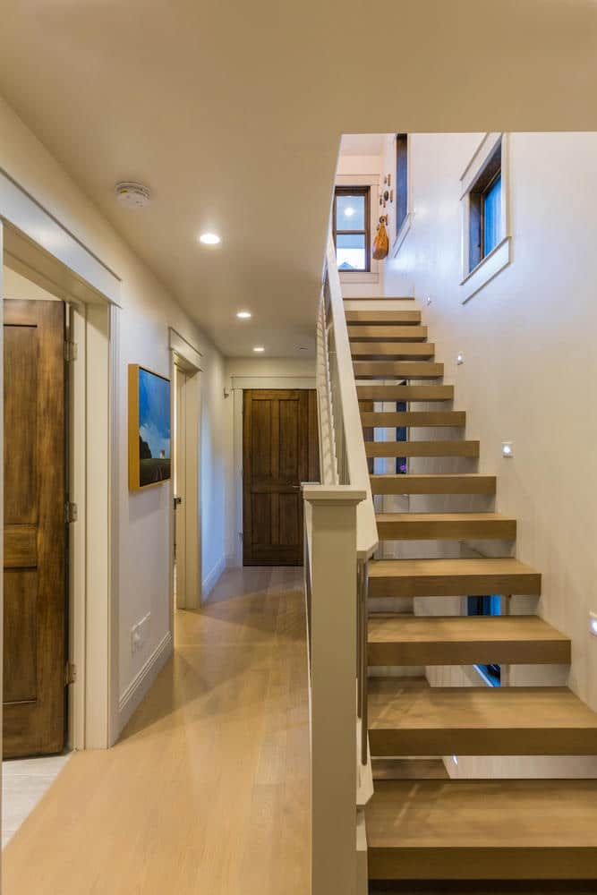 Norfolk Ave 1, stairs - architectural design by Elliott Workgroup