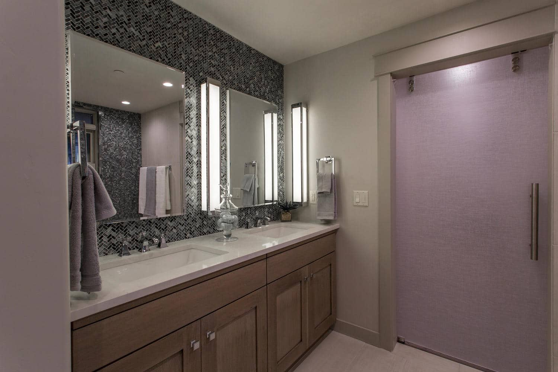 Norfolk Ave 2, bathroom - architectural design by Elliott Workgroup