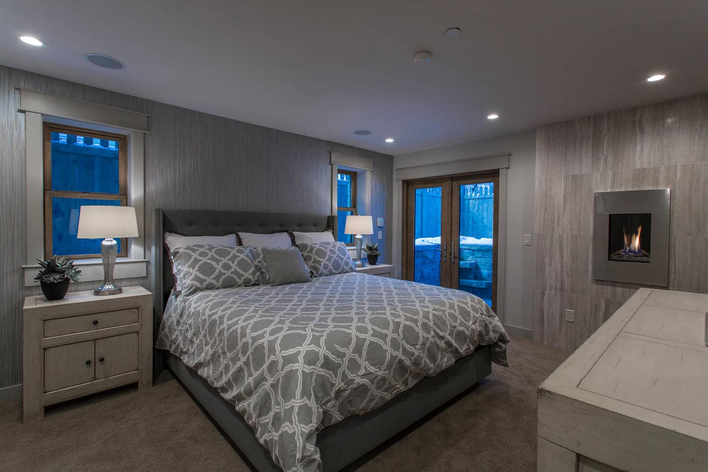 Norfolk Ave 2, bedroom - architectural design by Elliott Workgroup