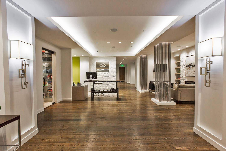 The Parkite, interior - architectural design by Elliott Workgroup