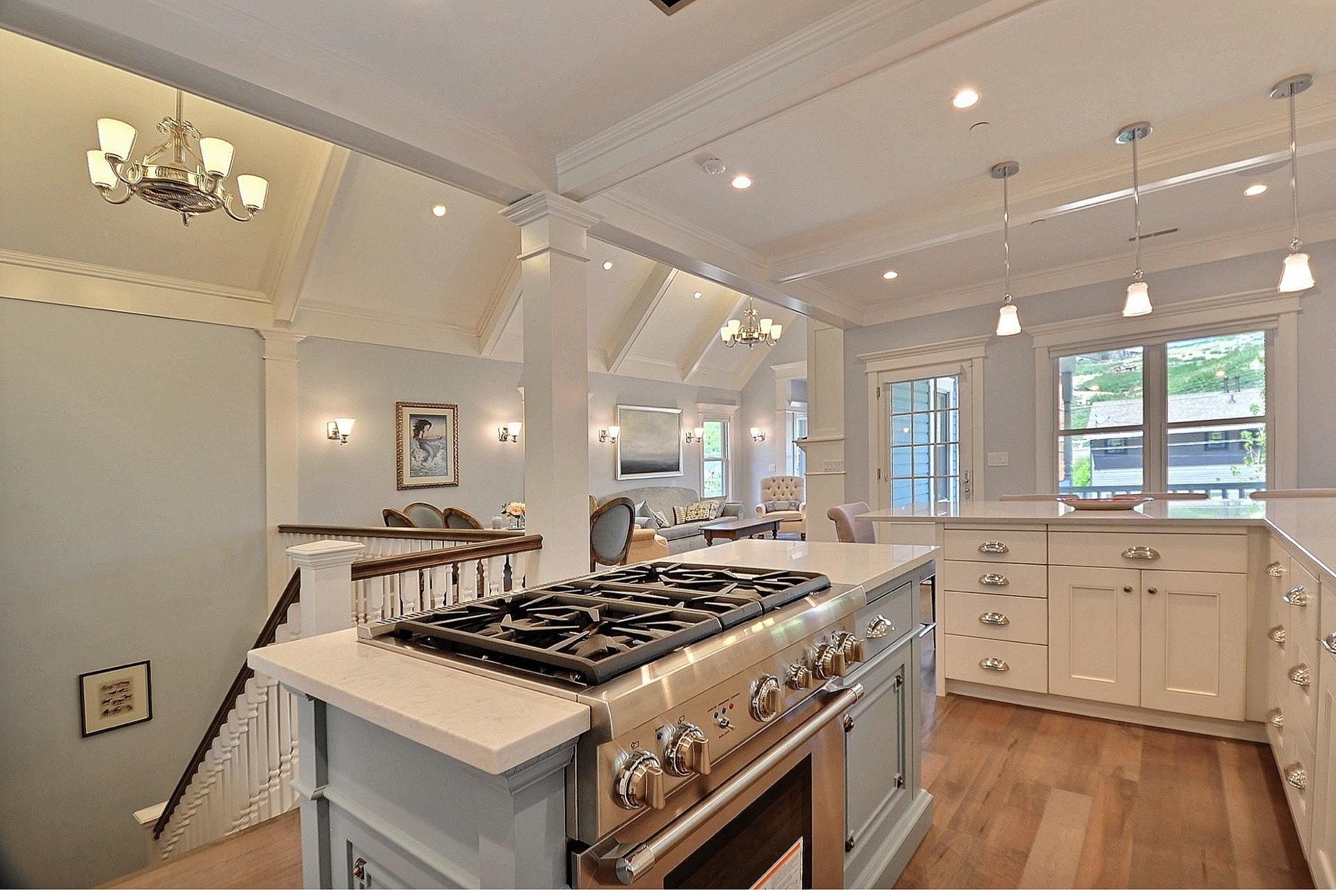 Woodside Avenue, kitchen - architectural design by Elliott Workgroup